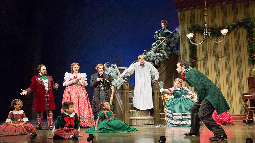 Cast Of A Christmas Carol.A Christmas Carol Mccarter Theatre Center