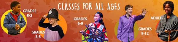 Classes For All Ages. Photo represent students from all ages ( Grades K2, 3, 5, 6, 8, 9,12 to adults)